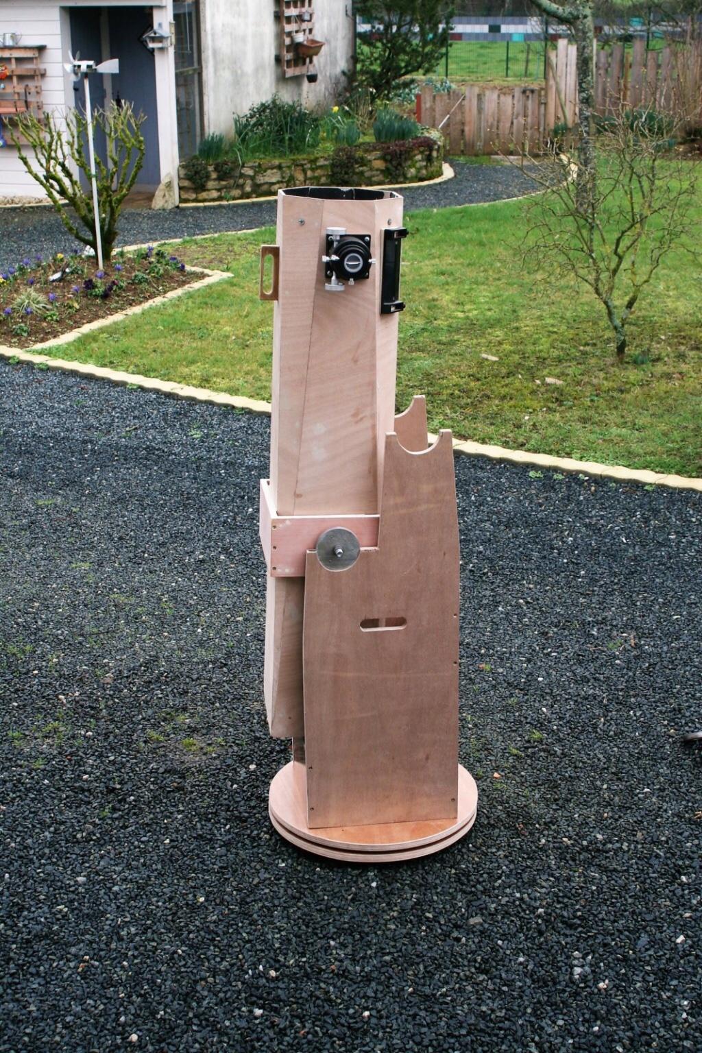 Notre nouveau télescope 200mm